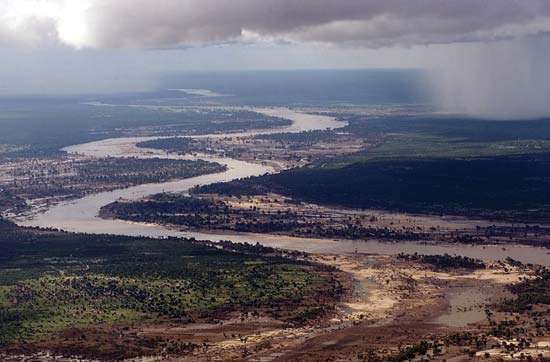 Limpopo River Southern Mozambique
