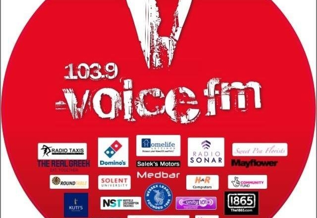 VoiceFMRadio Logo