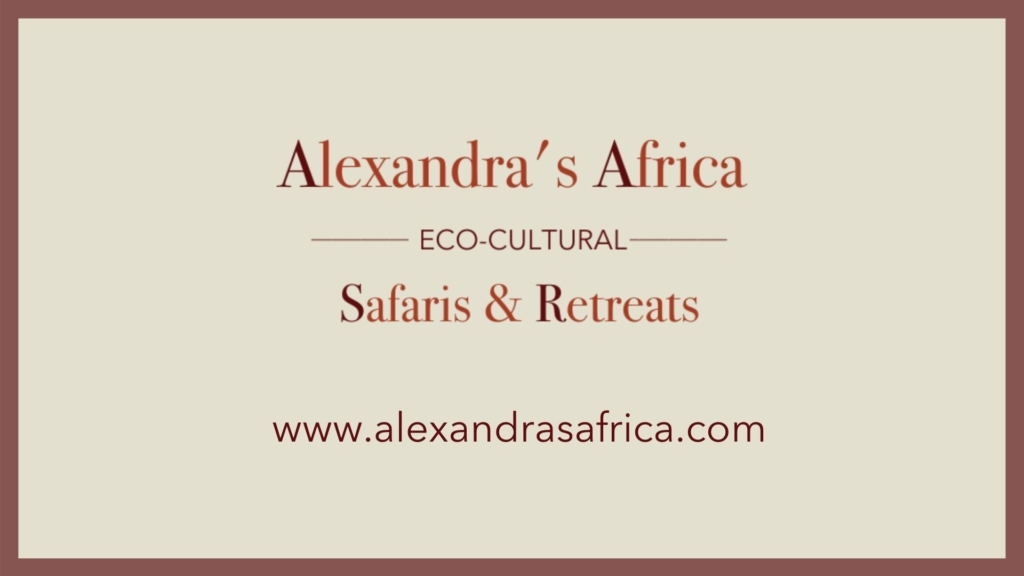 Alexandra's Africa Logo with Border