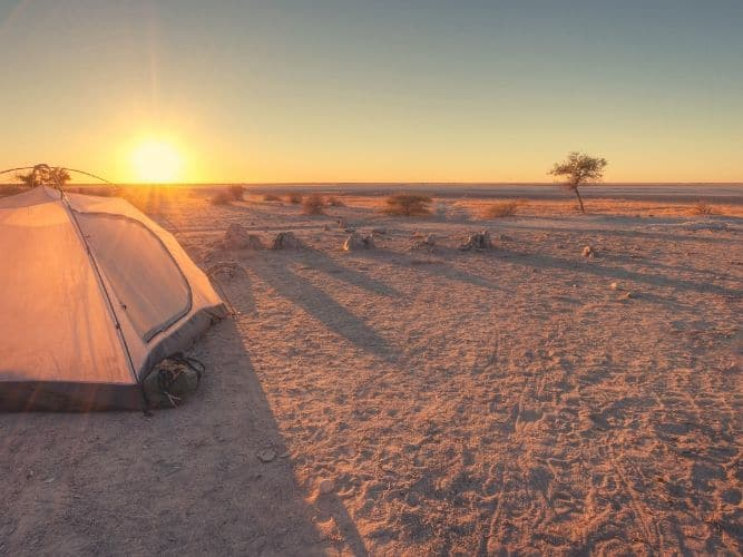 Camping Safari Cape Town to Vic Falls