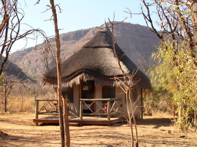 Luxury Tented Accommodation from Outside