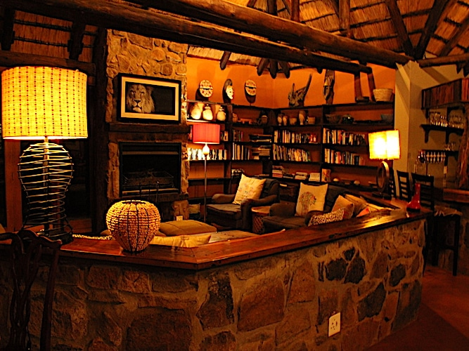 Lodge Lounge and Library Area