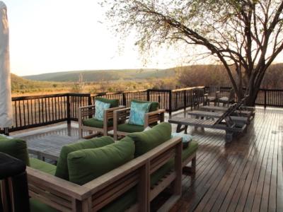 Safari Accommodation Patio