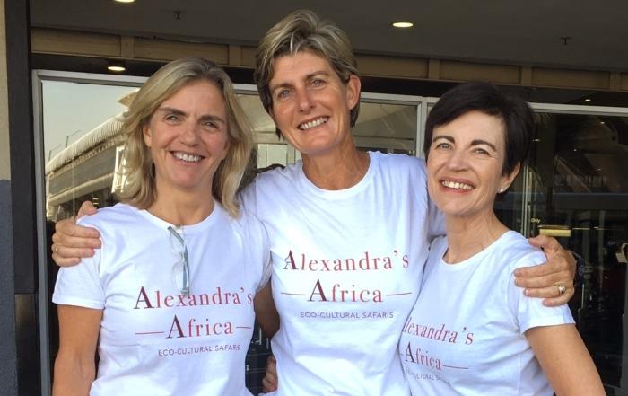Alexandra's Africa Team Photo
