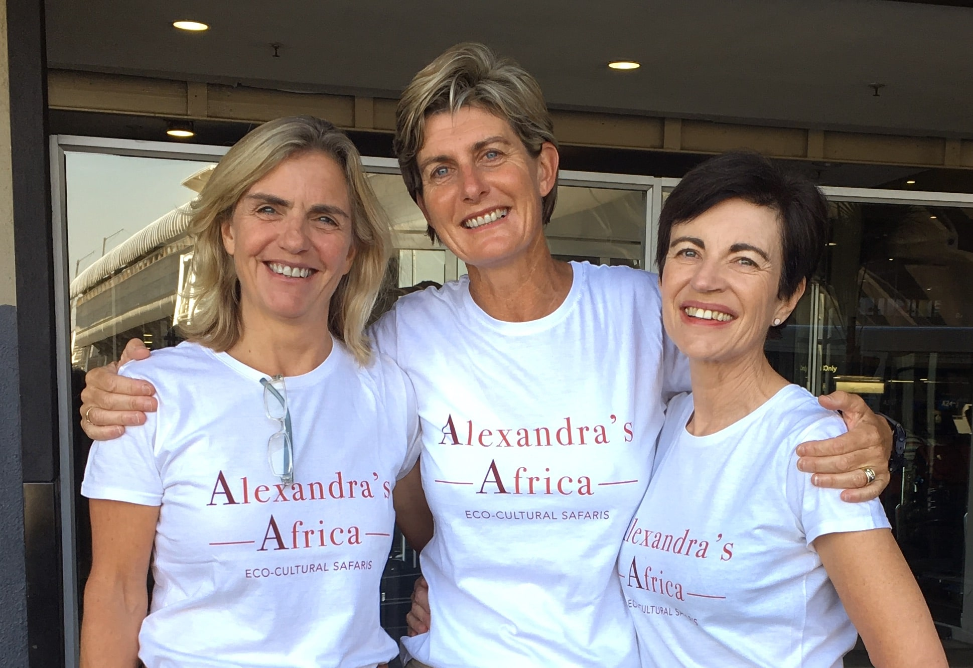 Alexandra's Africa Team Photo
