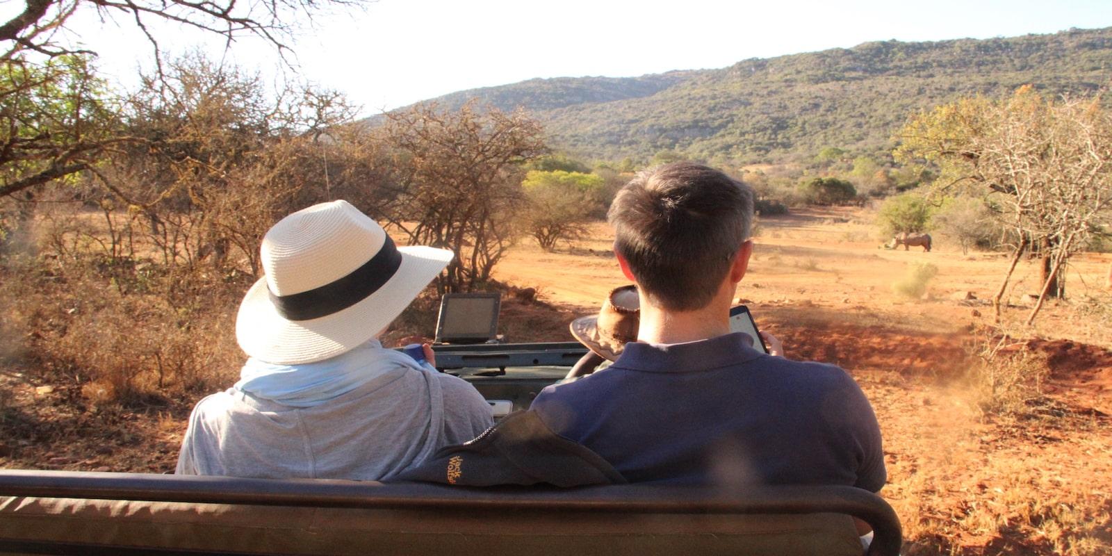 Safari on the road