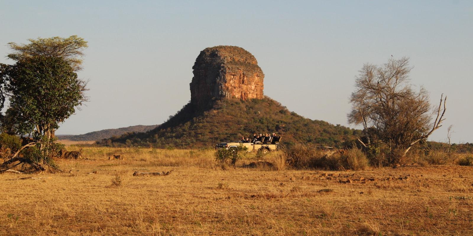 Safari open top vehicle