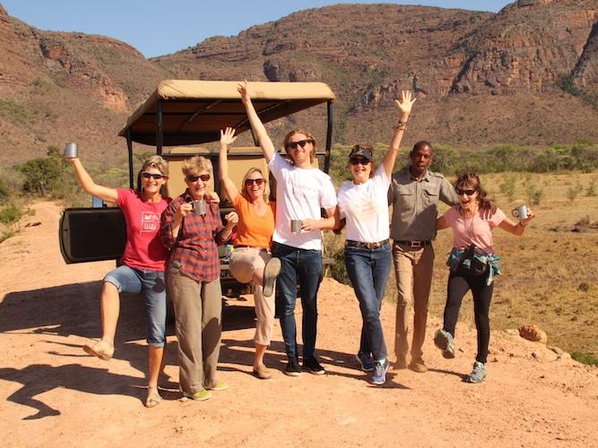 Guests on Safari