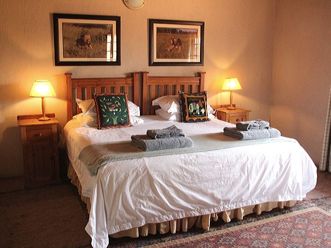 Alexandra's Africa Safari Retreat - guest bedroom - a double - in the main farmhouse