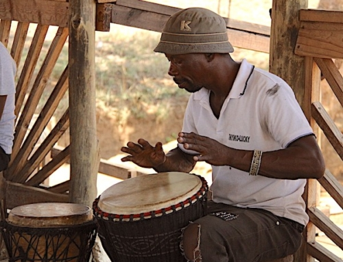 The Story of Lucky Ntimani Talented Musician and Wood Carver