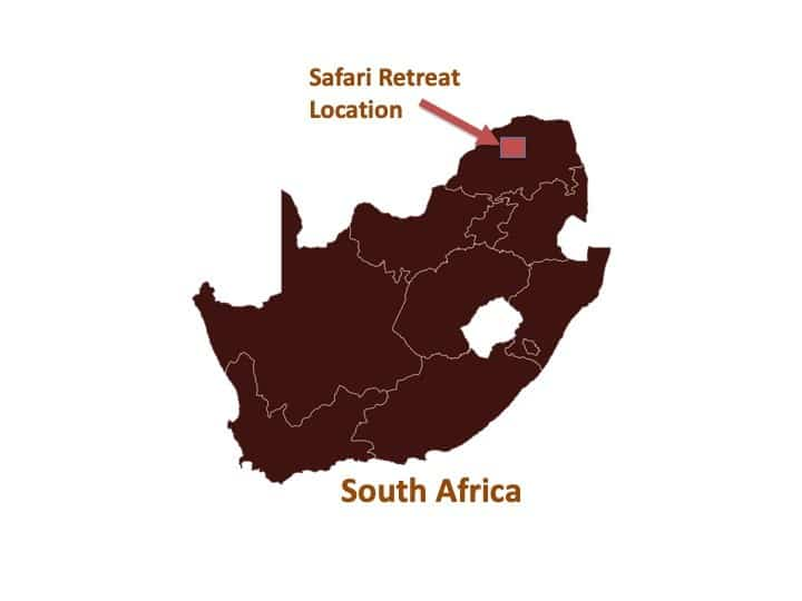 Safari Retreat Location Map