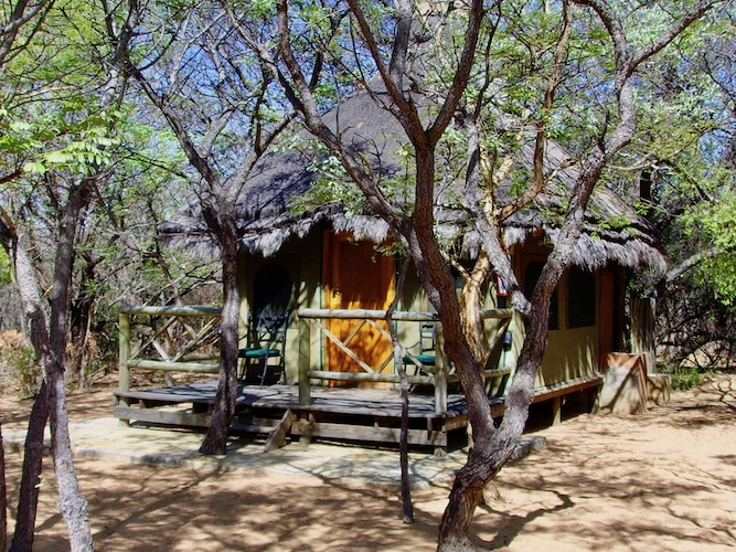 Accommodation at one of our Alexandra's Africa bushcamps