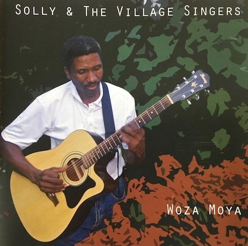 Solly Nkhumane with Guitar