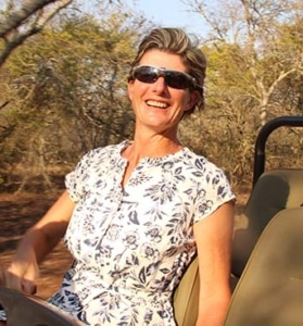 Sonja Otto leading an Alexandra's Africa Safari