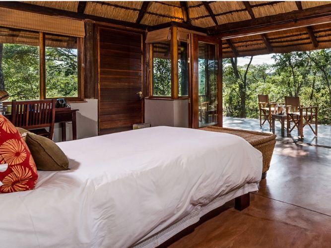 Stylish Lodge Bedroom